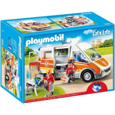 Playmobil 6685 Mentőautó hanggal és fénnyel