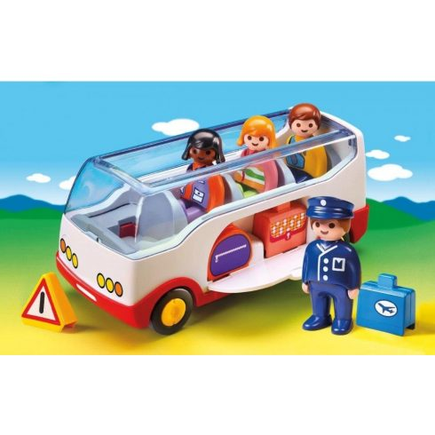 Playmobil 6773 1.2.3 Kisbusz