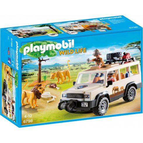 Playmobil 6798 Terepjárós szafari oroszlánokkal