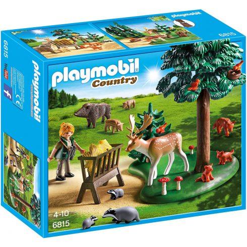 Playmobil 6815 Vadlesen az etetőnél