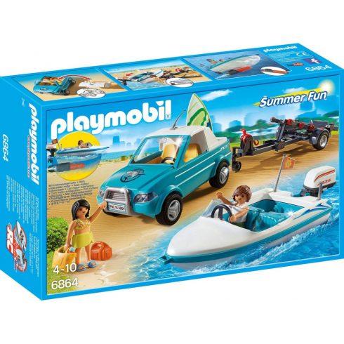 Playmobil 6864 Szörfös kocsi motorcsónakkal