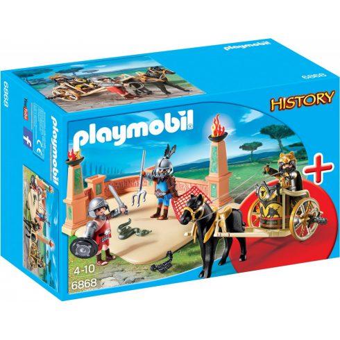 Playmobil 6868 Római harci kocsi gladiátorokkal