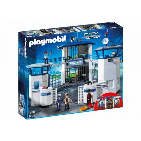 Playmobil 6872 Rendőrség cellákkal