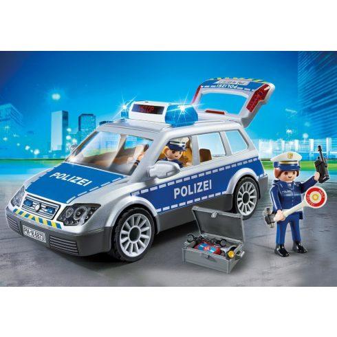 Playmobil 6873 Rendőrautó hanggal és fénnyel