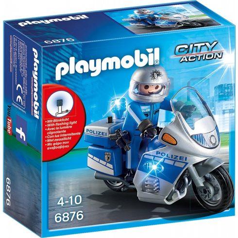 Playmobil 6876 Motoros rendőr