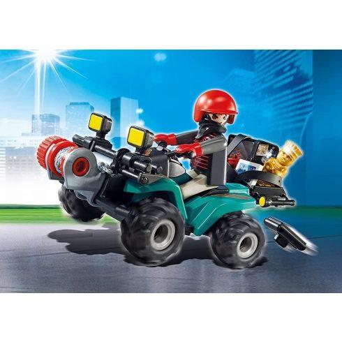 Playmobil 6879 Műkincsrabló szuper quadján
