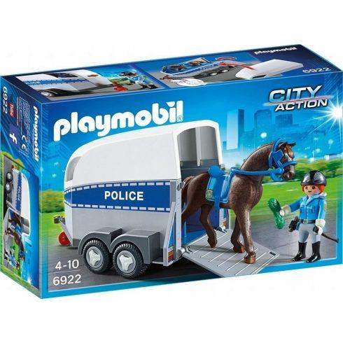 Playmobil 6922 Rendőrségi lószállító