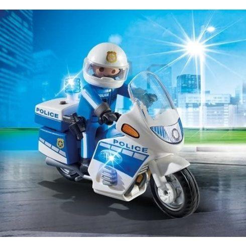 Playmobil 6923 Motoros rendőr
