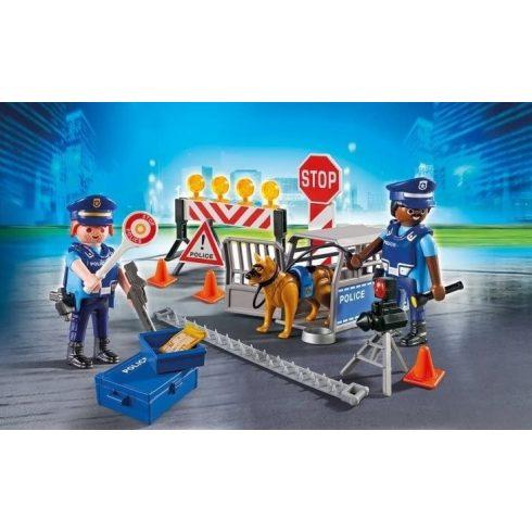 Playmobil 6924 Rendőrségi útlezárás