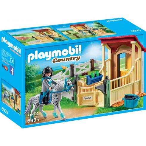 Playmobil 6935 Lókarám appaloosa lóval