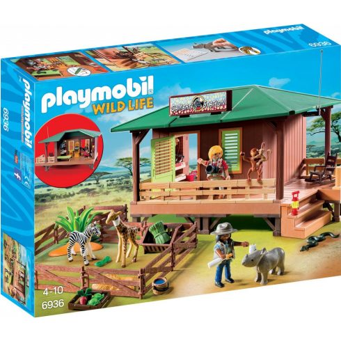 Playmobil 6936 Állatmentő központ karámmal