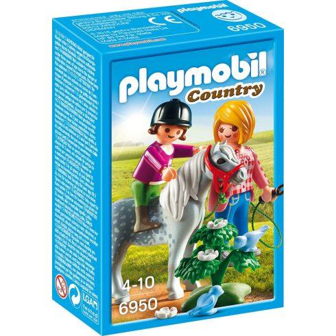 Playmobil 6950 Sétalovaglás pónival