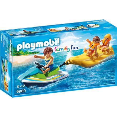 Playmobil 6980 Jet-ski húzta banánhajó