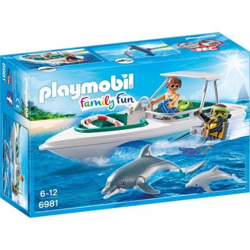 Playmobil 6981 Delfinekkel búvárkodom