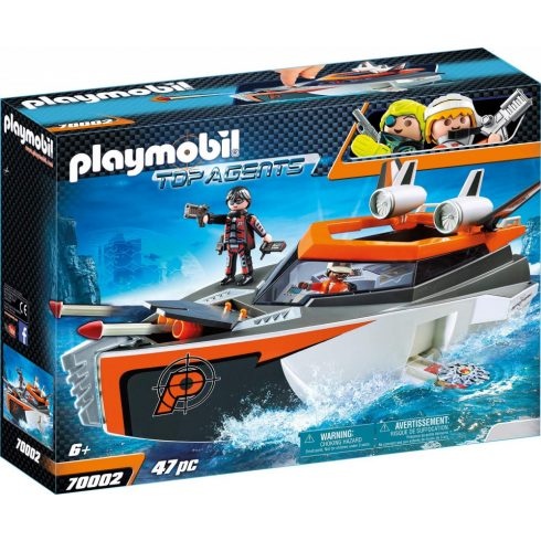 Playmobil 70002 SPY TEAM hadihajója