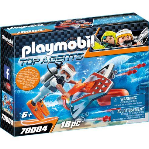 Playmobil 70004 SPY TEAM víz allatti szárnyai