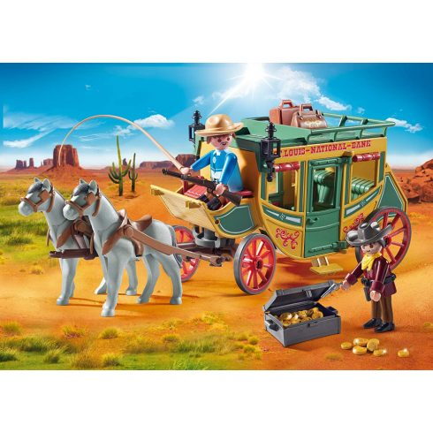 Playmobil 70013 Western postakocsi