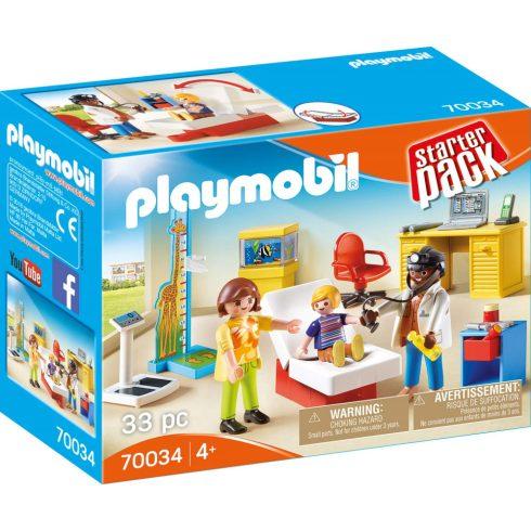 Playmobil 70034 StarterPack Gyermekorvos