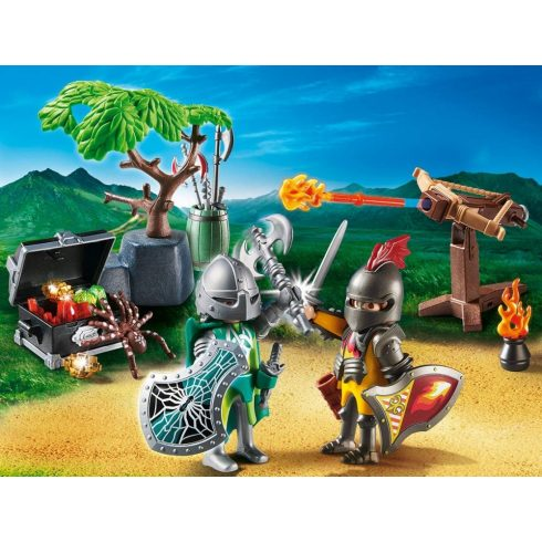 Playmobil 70036 StarterPack Harc a lovag kincséért