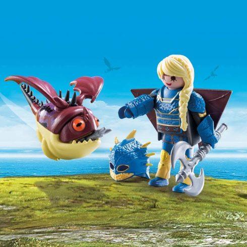 Playmobil 70041 Astrid és Hammanó