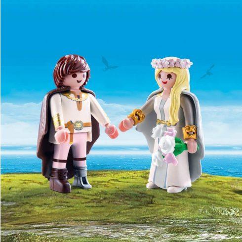 Playmobil 70045 Hablaty és Astrid esküvője