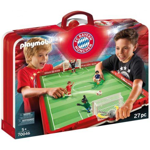 Playmobil 70046 Hordozható FC Bayern München focistadion