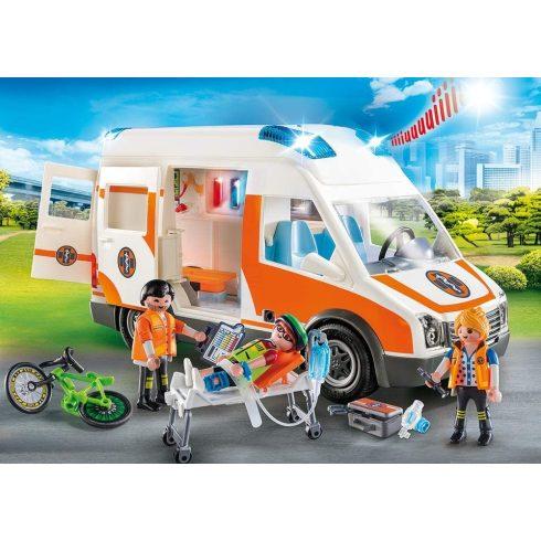 Playmobil 70049 Mentőautó hanggal és fénnyel