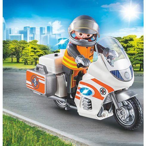 Playmobil 70051 Mentőorvos motorral