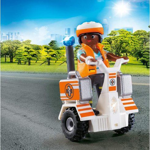 Playmobil 70052 Mentőorvos kétkerekű járgánnyal