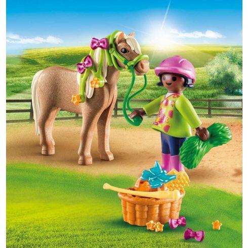 Playmobil 70060 Pónigondozó kislány