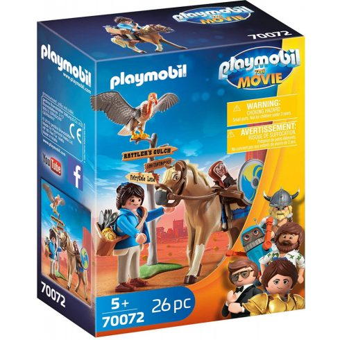 Playmobil 70072 Marla lovacskával