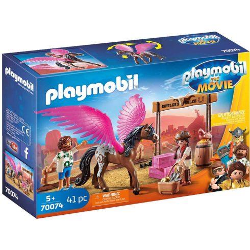 Playmobil 70074 Marla, Del és a szárnyas ló