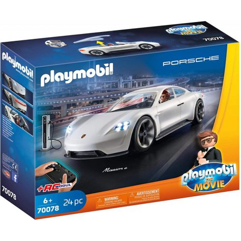 Playmobil 70078 Rex Dasher és a Porsche Mission E