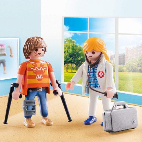 Playmobil 70079 Orvos és beteg