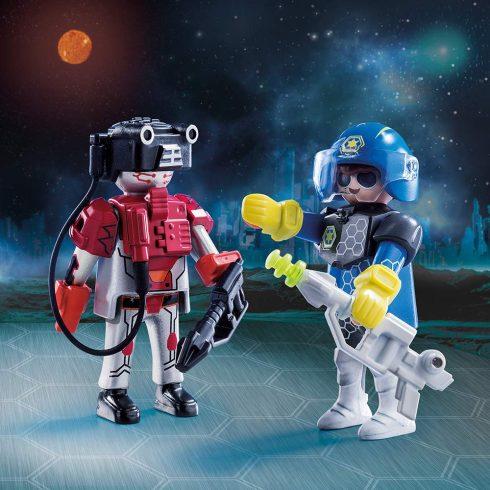 Playmobil 70080 Űrrendőr és űrbandita