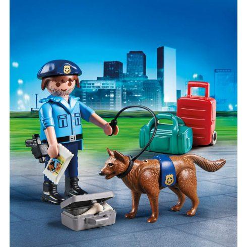 Playmobil 70085 Rendőr kutyával húsvéti tojásban
