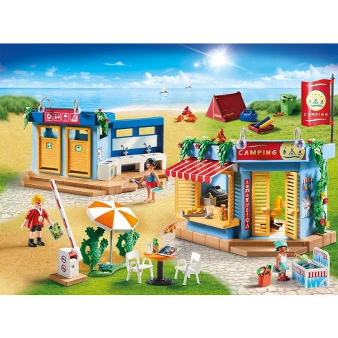 Playmobil 70087 Nagy kemping