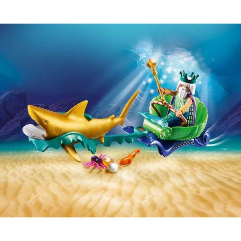 Playmobil 70097 A tenger királya cápahintóval