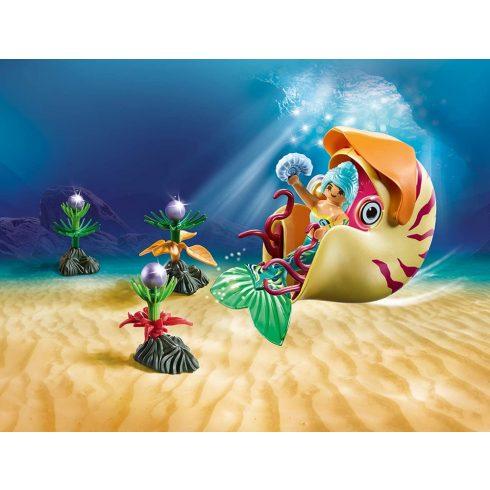 Playmobil 70098 Sellő tengeri csigagondolával