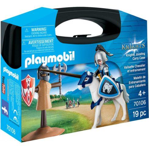 Playmobil 70106 Hordozható lovagi torna szett