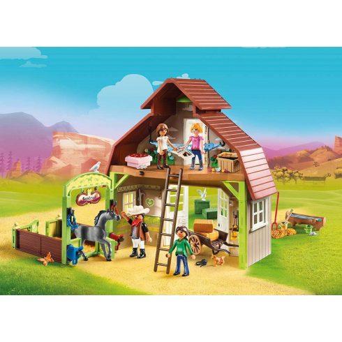 Playmobil 70118 Spirit - Lucky, Pru & Abigail istállója