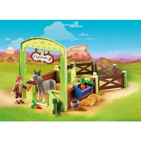Playmobil 70120 Spirit - Nyiszi és Konok úr