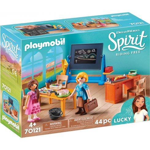 Playmobil 70121 Spirit - Flores kisasszony iskolaterme