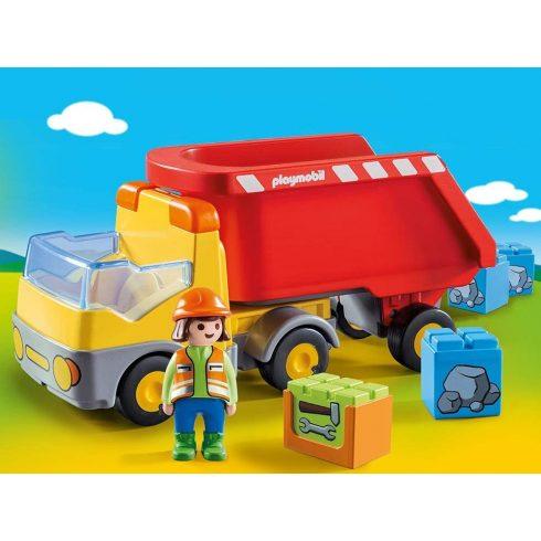 Playmobil 70126 1.2.3 Billenős teherkocsi