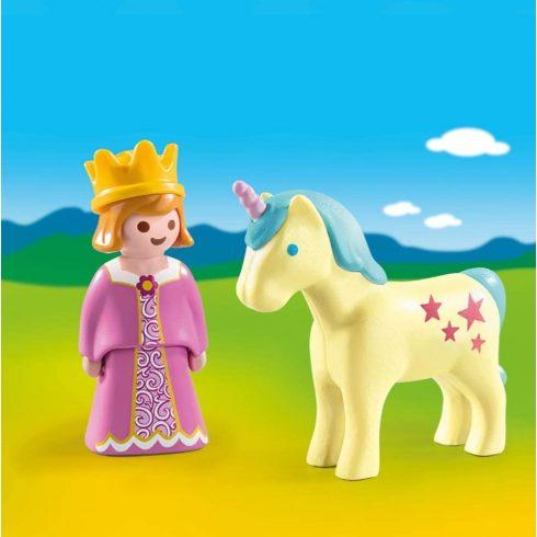 Playmobil 70127 1.2.3 Hercegnő egyszarvúval