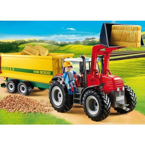 Playmobil 70131 Traktor utánfutóval