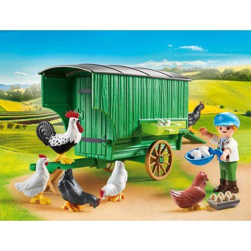 Playmobil 70138 Mobil tyúkól