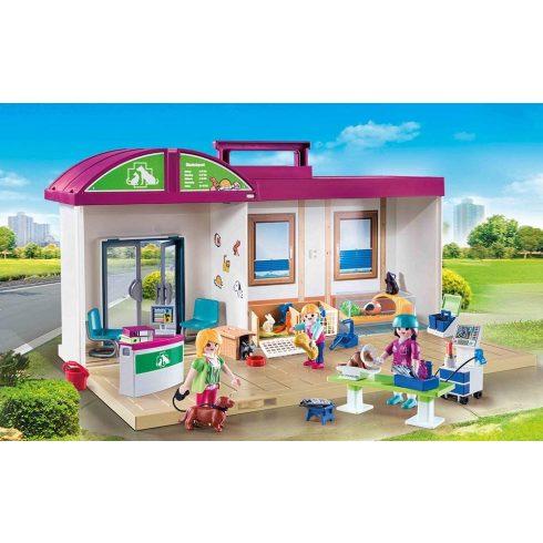 Playmobil 70146 Hordozható állatorvosi rendelő