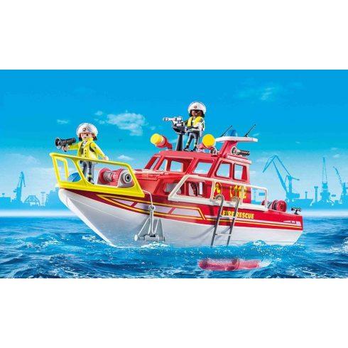 Playmobil 70147 Tűzoltóhajó