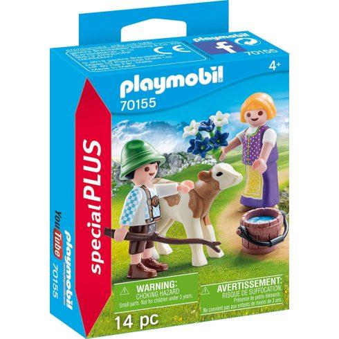 Playmobil 70155 Gyerekek bocival